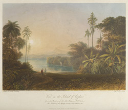 View in the Island of Ceylon, from the Residence of Sir Alexander Johnston